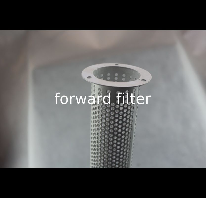 304 Custom Perforated Metal Pipe Filter Electroplated For Chemical Architecture