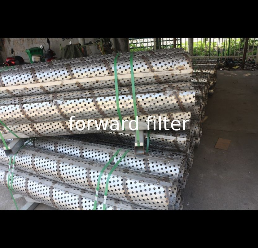 Stainless Perforated Steel Pipe 201 304 316 Custom Length Agriculture Industrial